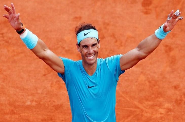 Rafael Nadal đánh bại Usain Bolt để trở thành VĐV vĩ đại nhất thế kỉ 21
