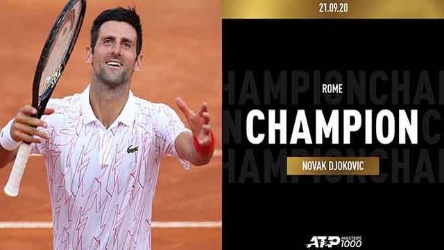 Novak Djokovic đi vào lịch sử với tư cách tay vợt giành nhiều danh hiệu ATP Masters 1000