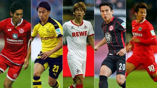 Bundesliga miền đất hứa cho các cầu thủ người Nhật vươn ra thế giới